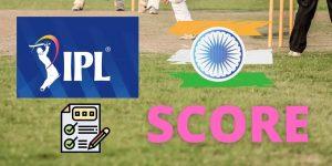 IPL score