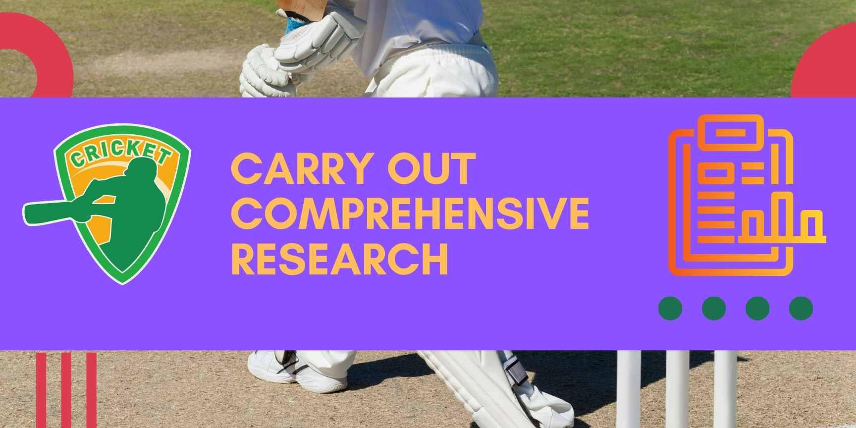 carry out comprehensive research